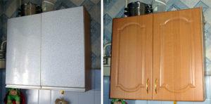 Ремонт кухонных шкафов