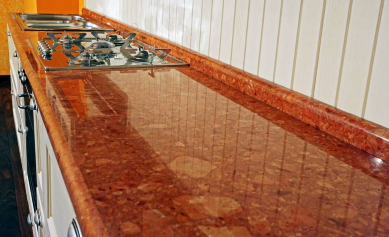 Реставрация столешницы для кухни