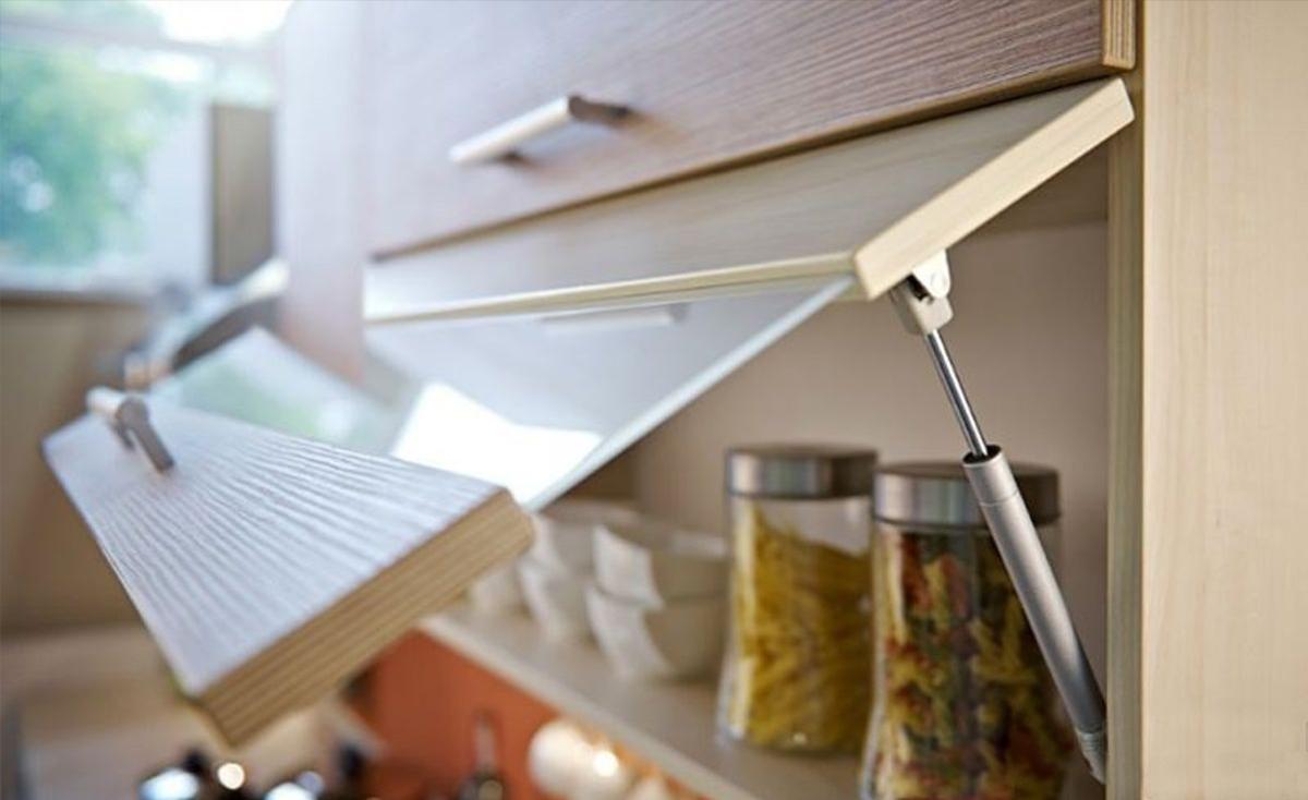 Газлифты для кухни: виды конструкции и преимущества